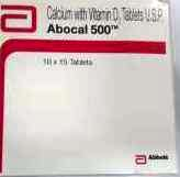ABOCAL 500 TABLET 15`S