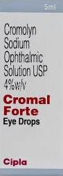 CROMOL FORTE EYE DROP 5ML