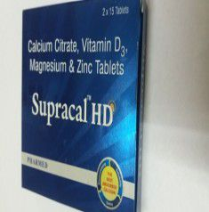 Supracal Hd Tablet 15`s